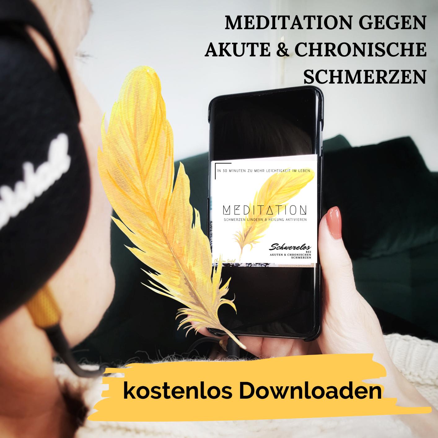 Meditation bei akuten und chronischen Schmerzen